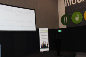 Reinvent Your Career Expo Melbourne Seminar Stage