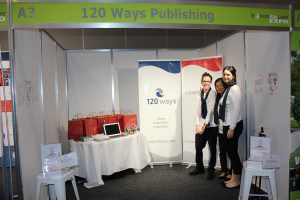 Reinvent Your Career Expo Melbourne 120 Ways Publishing Stand