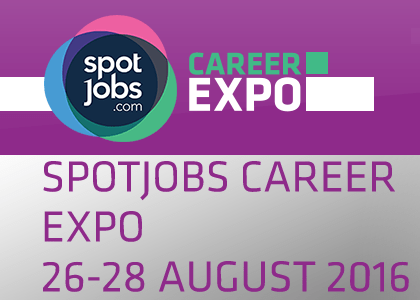 SpotJobs Career Expo Melbourne 26 - 28 August 2016
