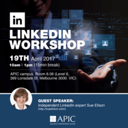 APIC LinkedIn Workshop