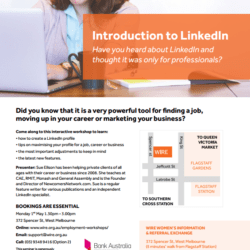 WIRE Introduction to LinkedIn for Women