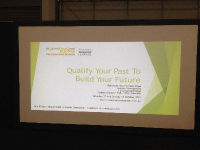 Reinvent Your Career Expo Sydney Qualify Your Past To Build Your Future Sue Ellson