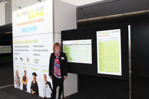 Reinvent Your Career Expo Melbourne Entrance Sue Ellson